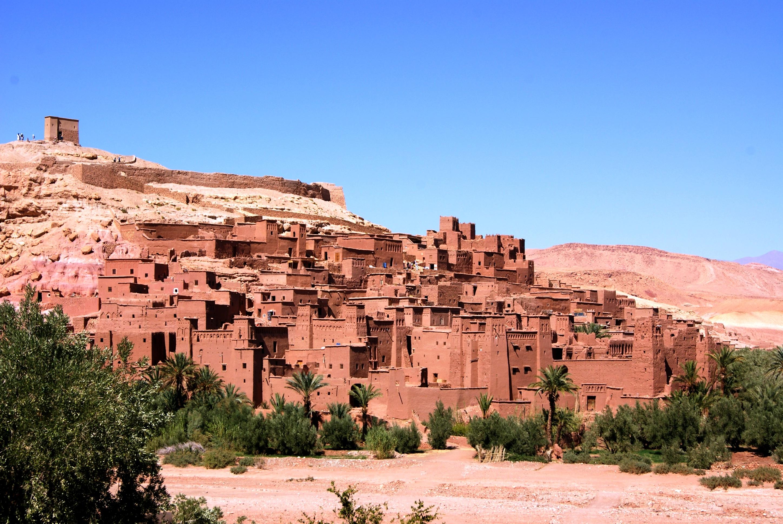 Com belas paisagens e muito sol, Uarzazate é a meca do cinema no Marrocos