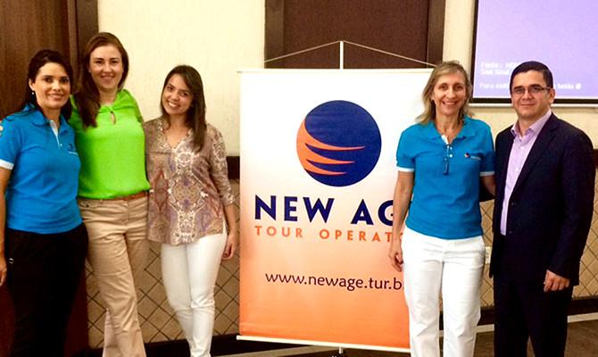 New Age realiza mais uma rodada do Road Show, com Turismo da Costa Rica, KTI e Surland como participantes