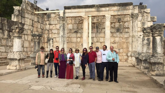 Operadores brasileiros reunidos em Israel