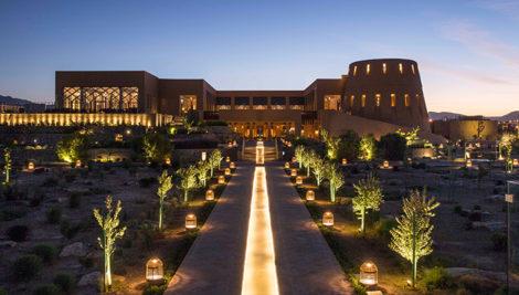 Anantara Al Jabal Al Akhdar levando o luxo à novas alturas