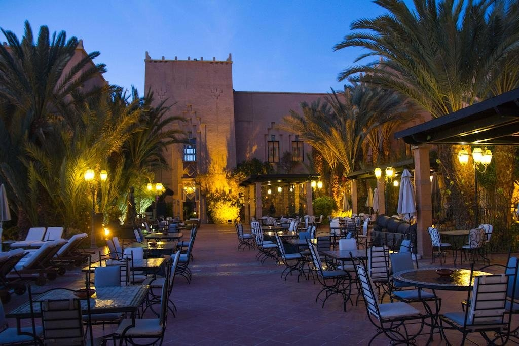 Le Berbere Palace, Ouarzazate, Marrocos